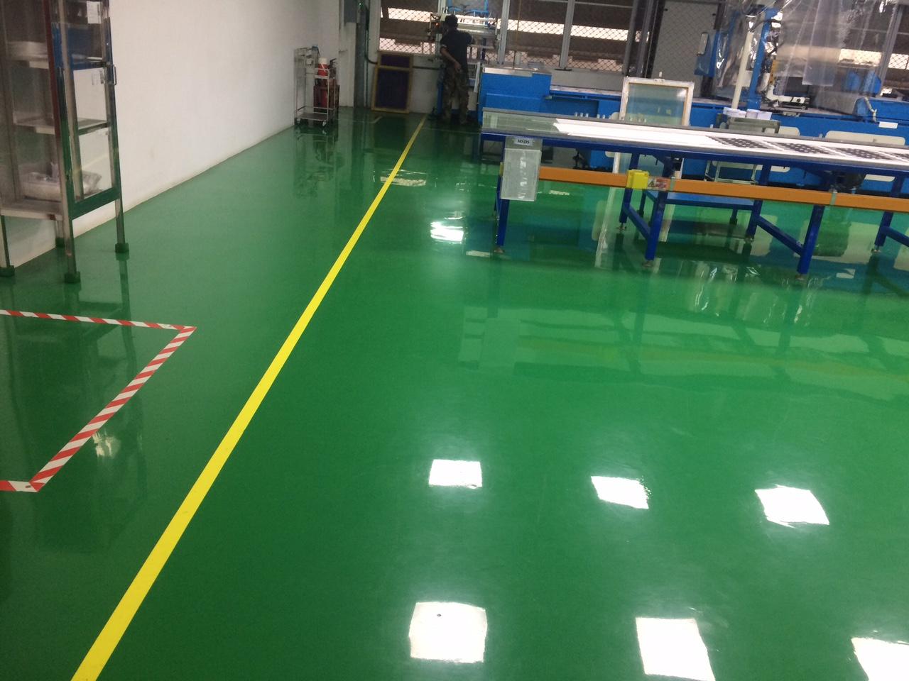 Lưu ý sử dụng sàn sau khi sơn epoxy tại Nghệ An