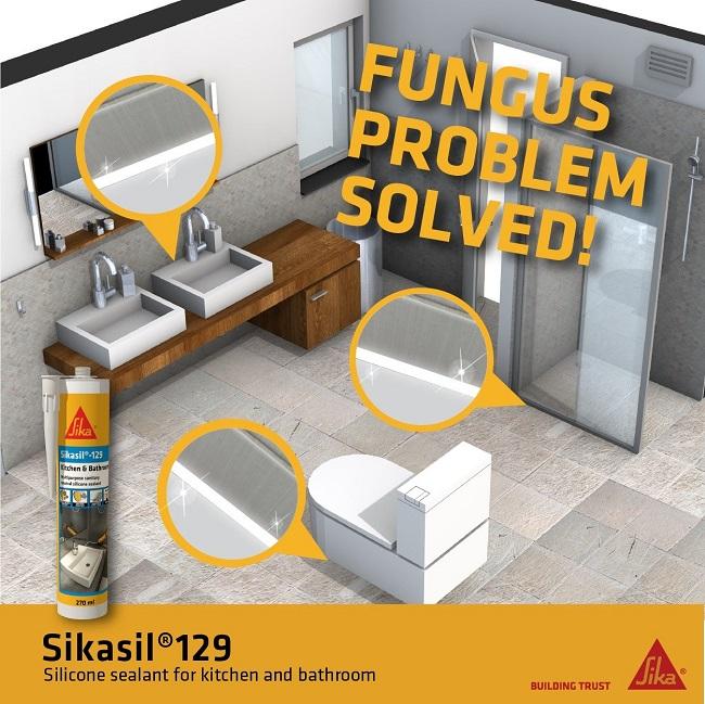 Sikasil 129 | Keo trám silicone chuyên dụng