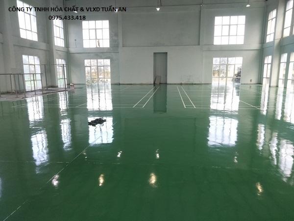 Thi công sơn sàn epoxy bằng Sika 2530W | Sika Miền Trung
