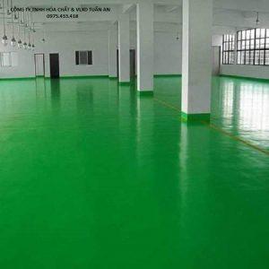 Hướng dẫn thi công sơn sàn epoxy bằng Sikafloor 2530W