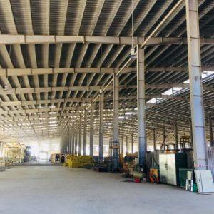 Thi công xoa nền bê tông tại nhà máy gỗ MDF Vũ Quang