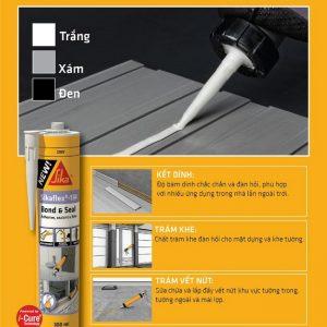 Sikaflex®-134 Bond & Seal - Keo đa dụng chuyên trám khe và kết dính