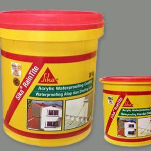 Sản phẩm chống thấm gốc Acrylic - Sika Raintite